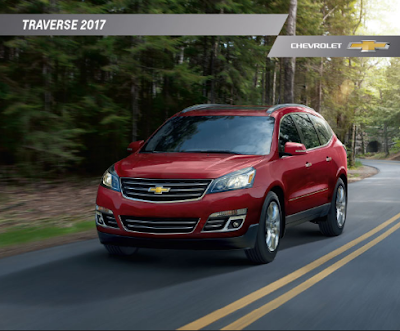 Downloadable 2017 Chevrolet Traverse Brochure