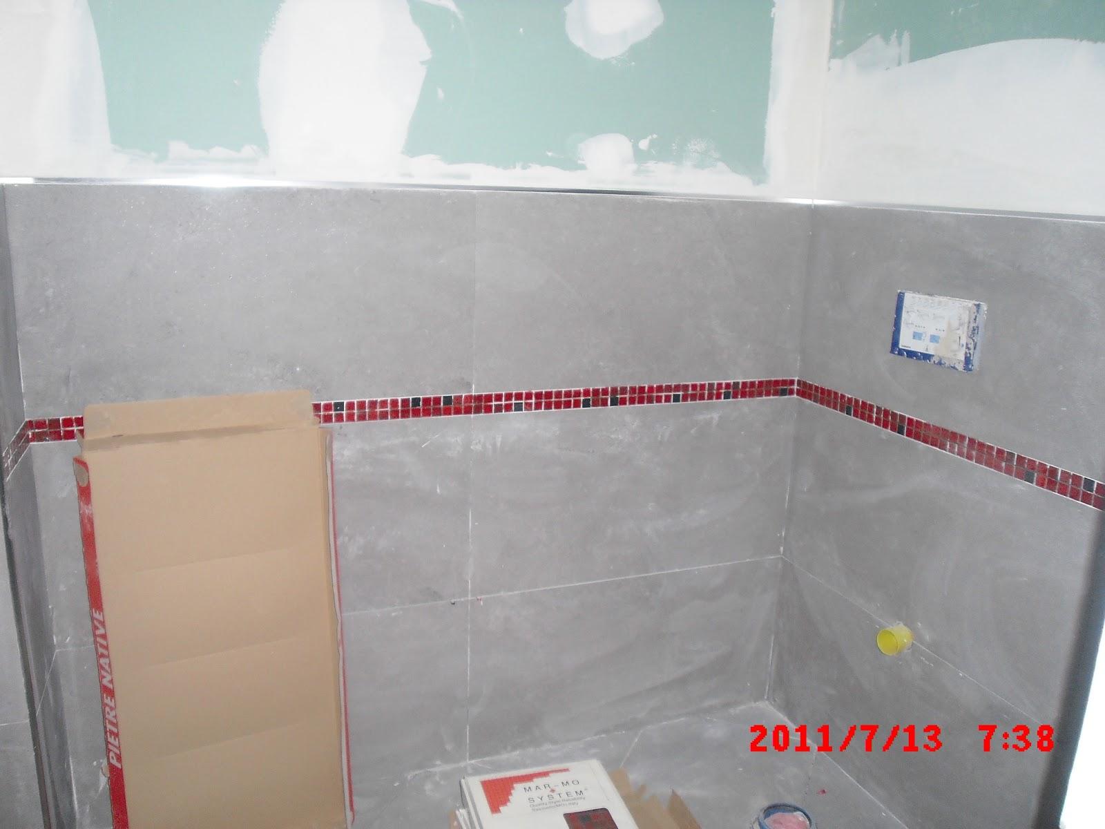 Piastrelle bagno bianco e grigio serie victorian pavimenti e