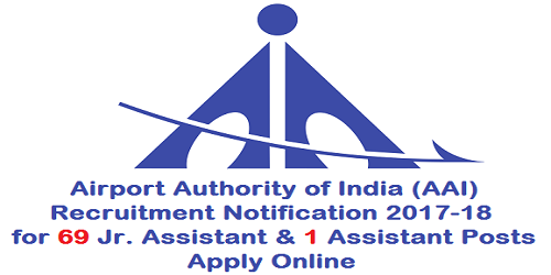 AAI Recruitment Notification 2017