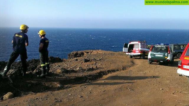 Un pescador herido tras sufrir una caída en Los Cancajos