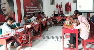 DPC PDI Perjuangan Bojonegoro, Hadirkan Pendaftar Bakal Calon Bupati