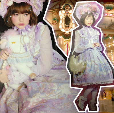 mintyfrills sweet lolita fashion cute kawaii japan pony