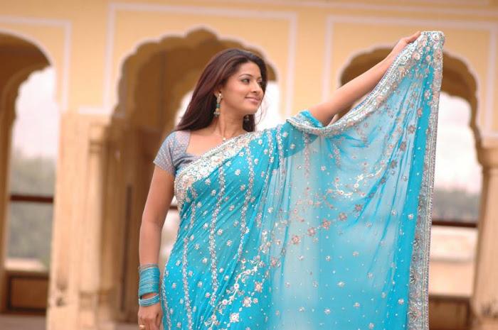 Sneha In Saree Hot Murattu Kaalai Tamil Movie Pics