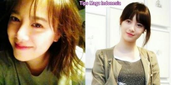 artis korea Goo Hye Sun saat tanpa makeup