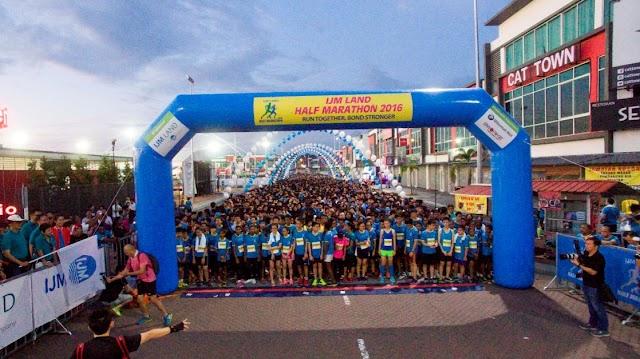 6,000 MALAYSIANS RACE FOR A GOOD CAUSE  AT IJM LAND HALF MARATHON