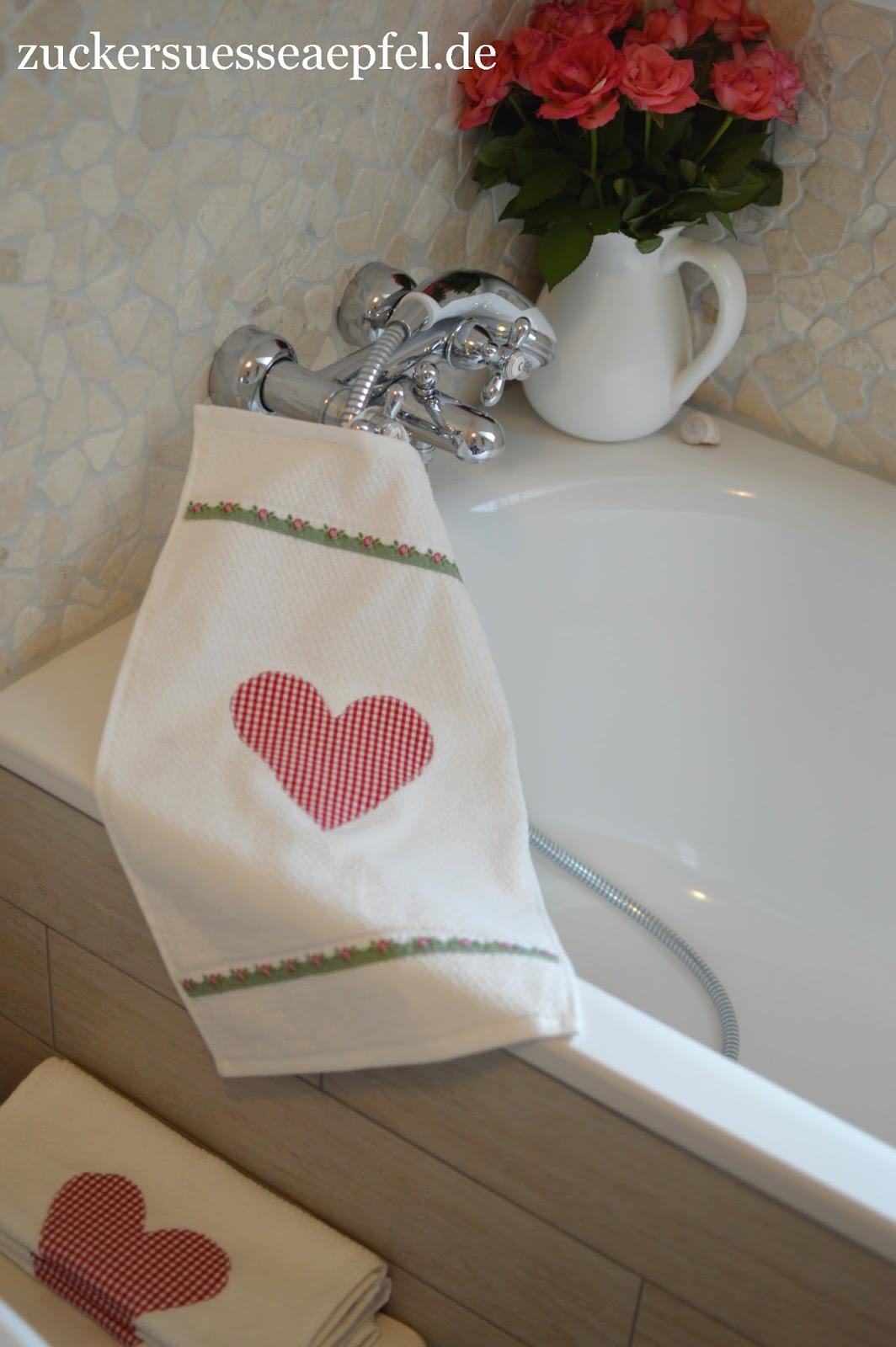 Handtücher Landhausstil handtücher im landhausstil schnell und einfach selber nähen