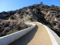 Heading north on Vermont Canyon bridge, Griffith Park