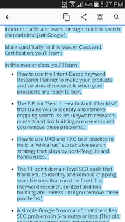 Image Funnel page fail -blue highlighting conceals print