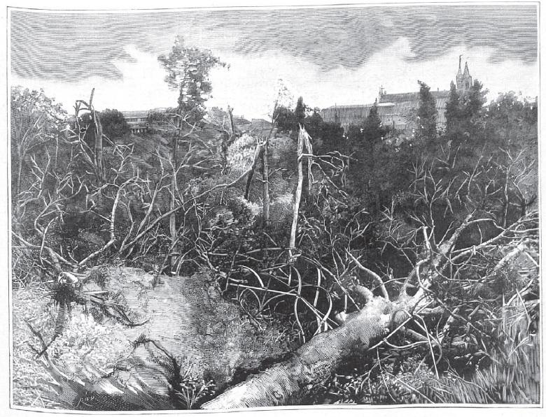 Memoria gr fica de espa a tornado de 1886 en madrid - Tornados en espana ...