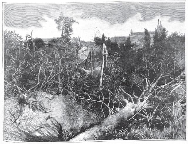 Tornado de 1886 en Madrid.