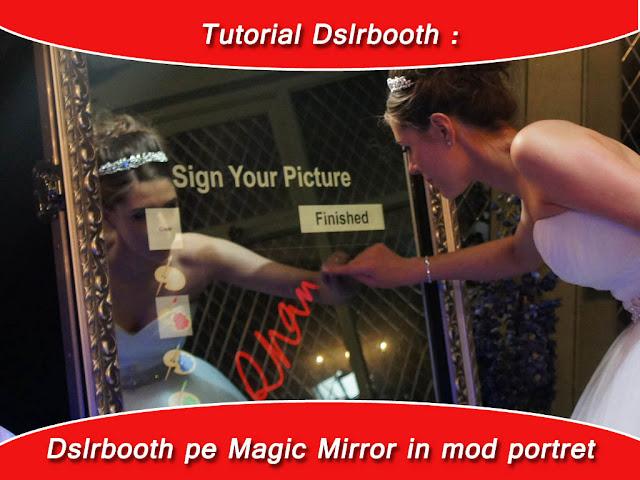 Animații customizate pentru oglinda magica