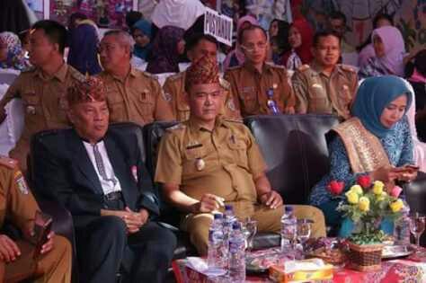 Hari Anak Nasional, Wabup Pringsewu Vidio Conference Dengan Dirjen Kesmas
