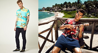 camisa hawaiana hombre informal