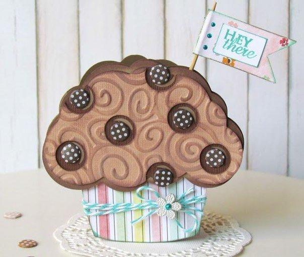 Открытки пироженки своими руками, днем рождения
