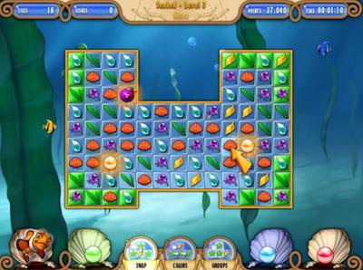 探索大西洋(Atlantic Quest),藍色好玩益智消除遊戲!