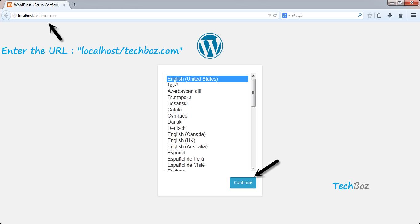 How to Install WordPress on Localhost using XAMPP - Tech Boz