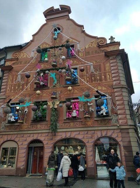 Calles de Estrasburgo en Navidad