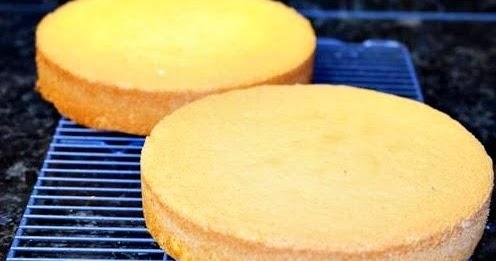 Receita de Pão-de-ló sem leite: Super fofinho - Amando Cozinhar ...