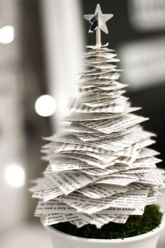 Los Mil Libros: 5 ideas para decorar en Navidad con libros