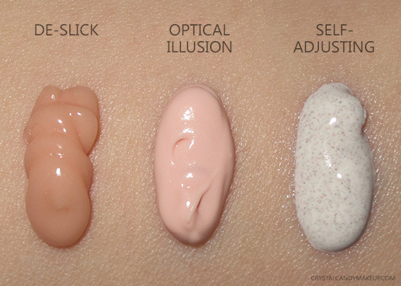 Urban Decay Complexion Primers De-Slick Self-Adjusting Optical Illusion Swatches