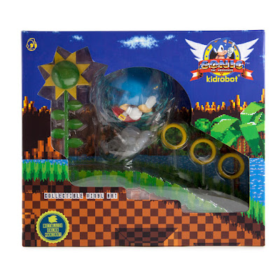 Sonic the Hedgehog 25th Anniversary Medium Vinyl Figure by Kidrobot x SEGA