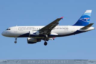 Airbus A319 of Atlantic Airways from the Faroe Islands