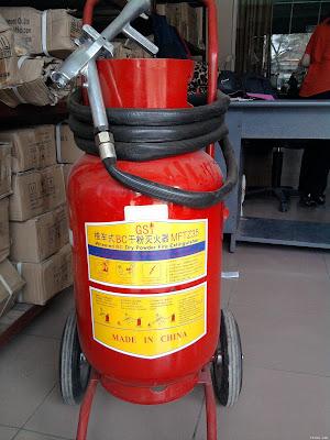 Bình bột chữa cháy loại xe đẩy BC 35kg