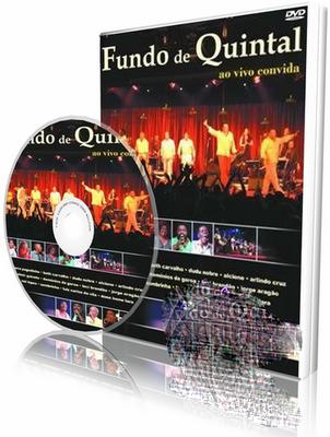 DVD Fundo de Quintal – Ao Vivo Convida (2004)