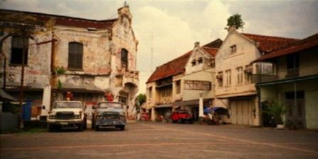 Di Kota Semarang Anda Bisa Melihat Deretan Gedung Dengan Gaya Arsitektur Eropa di Kota Lama