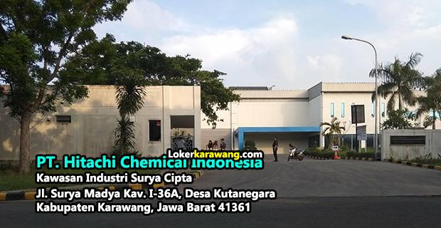 Lowongan Kerja PT. Hitachi Chemical Indonesia (HCID) Karawang