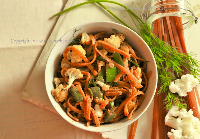 Paprika infused Red Rice Pasta