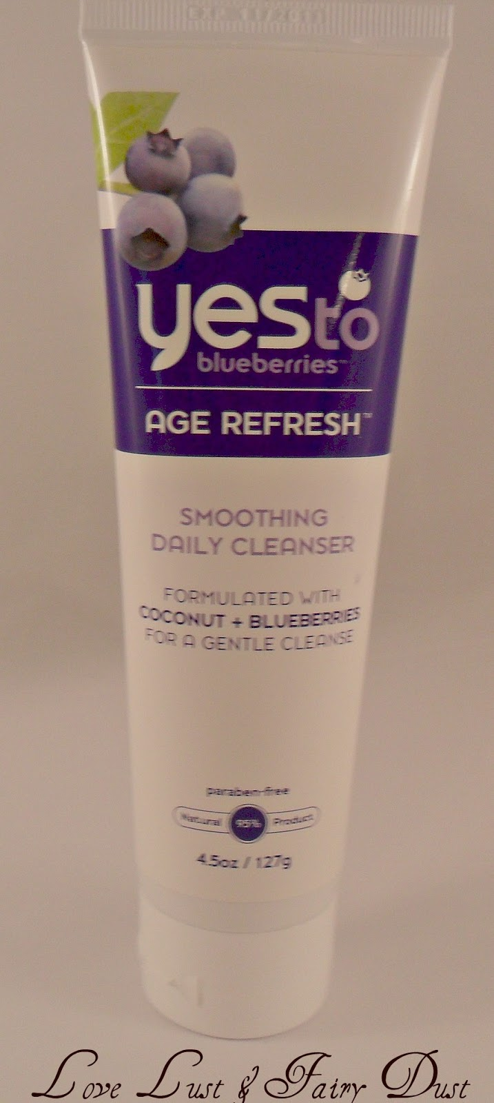 review of yes to blueberries age refresh cleanser