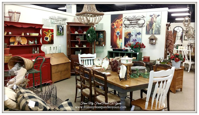 Farmhouse Table-Antique Shopping-The Savvy Shopper- From My Front Porch To Yours