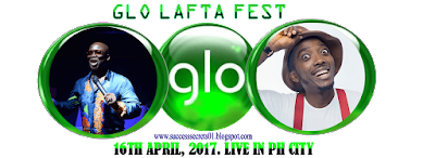 GLO LAFTA FEST 2017 GLO GIVES 1000 RECHARGE CARD DISCOUNT!