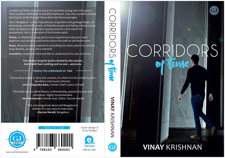 In conversation with Vinay Krishnan, Author of Corridors of time