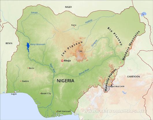 niger map geography of niger map of niger worldatlascom - HD1200×939