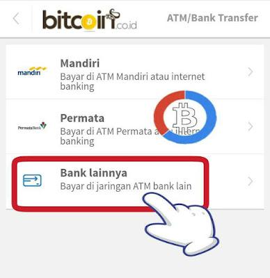 Pilihan jaringan ATM