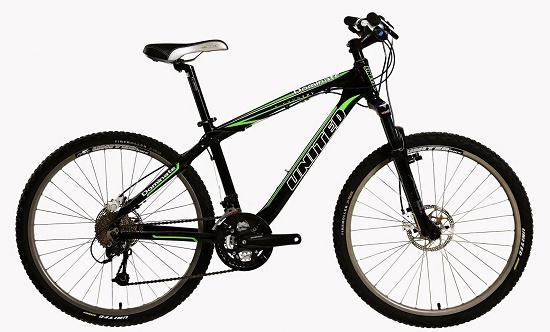 Spesifikasi dan harga sepeda United Dominate 012