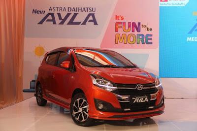 Daihatsu Ayla, Mobil Paling Murah dan Irit 2017