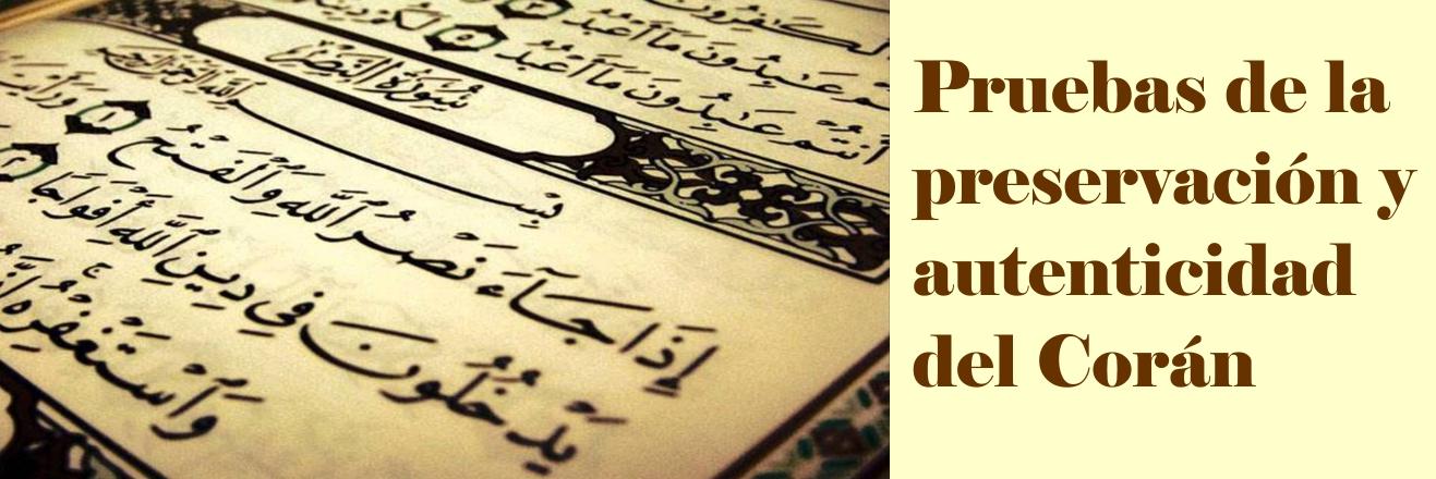 Preservación del Corán