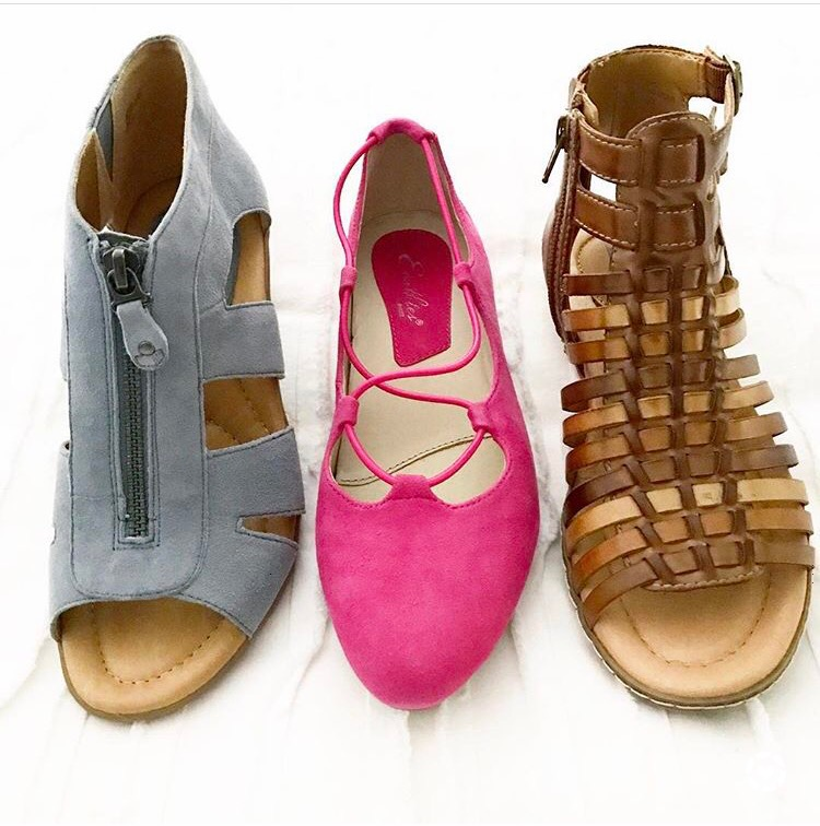 These are the perfect teacher shoes for spring! They are incredibly comfortable and can be worn in the classroom all day without your feet (or back) hurting! The perfect flats, wedges, and sandals to wear in the classroom this spring :)