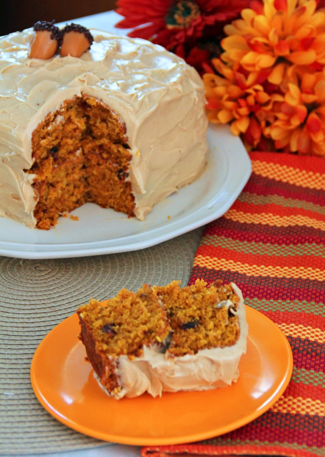 Jo And Sue Fall Harvest Cake With Browned Butter Cream