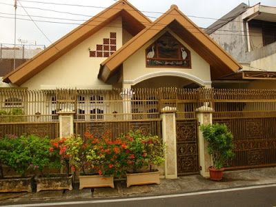 gambar eksterior rumah mewah klasik moderen
