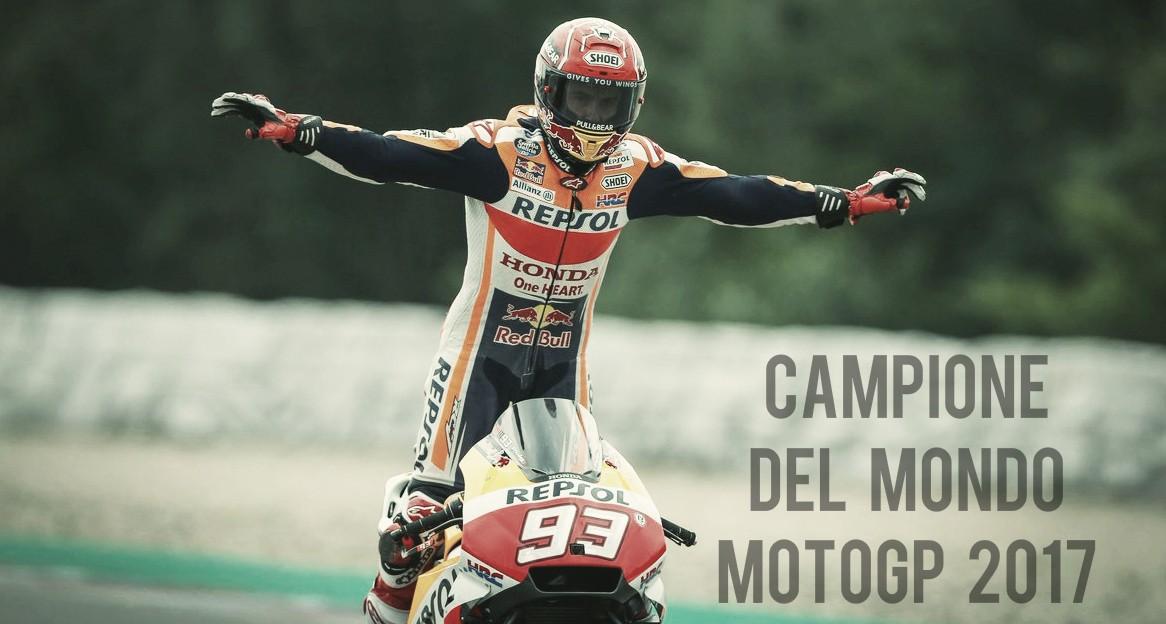 Fenomeno Marquez a Valencia: è Campione del Mondo di MotoGP 2017