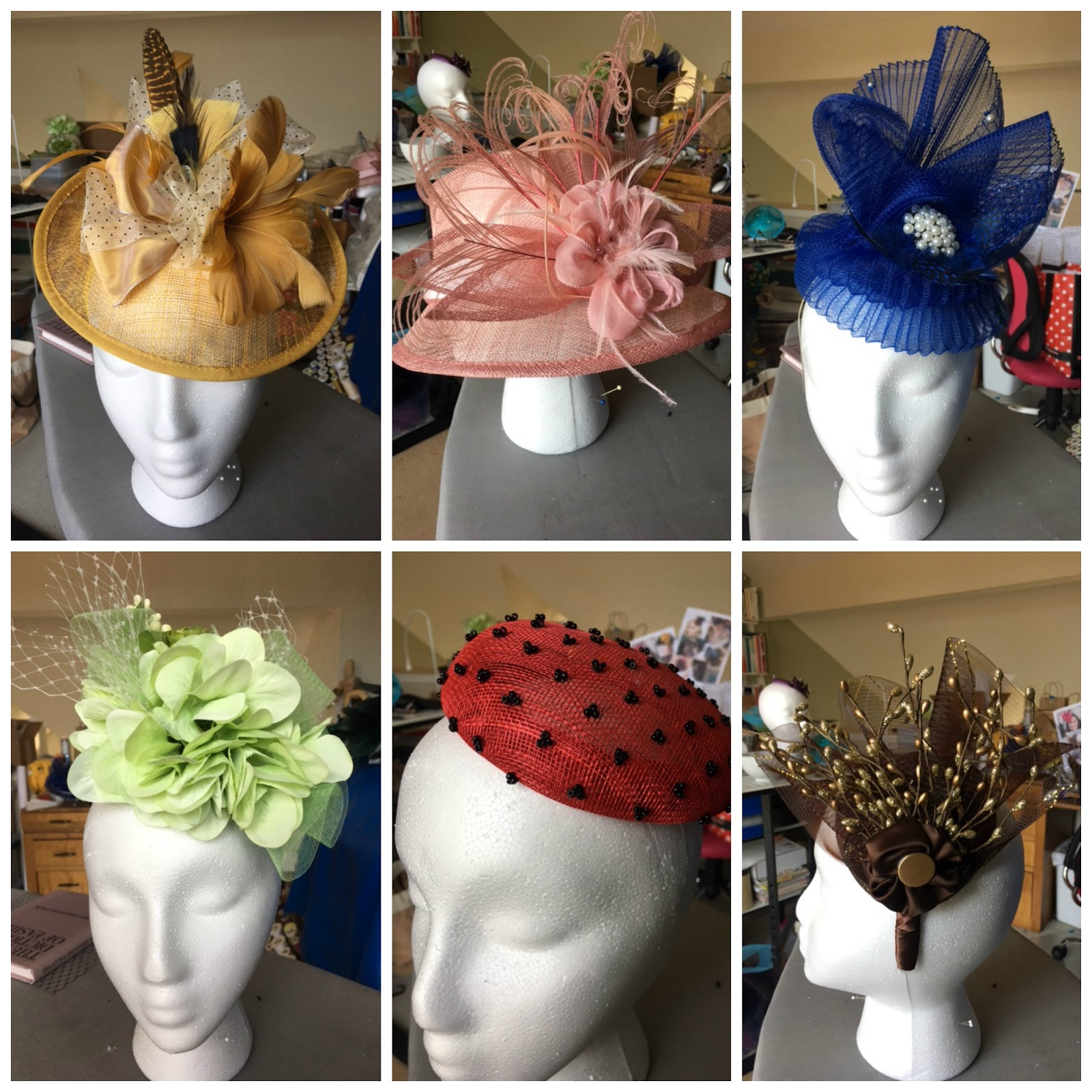 Each is a full size hat fascinator. There will be 22 in all. And...even  better 3b1f204c0d8