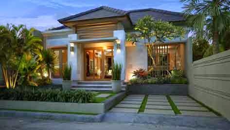 Contoh Desain Rumah Villa Minimalis Desain Rumah