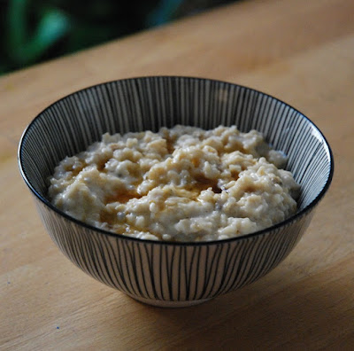 Porridge aux raisins secs