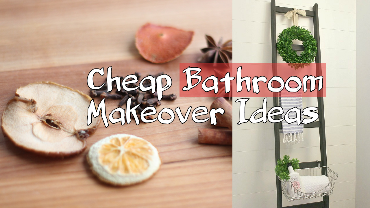 Cheap Bathroom Makeover Ideas