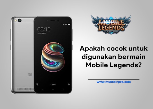 Performa Xiaomi Redmi 5A Saat Bermain Game Mobile Legends