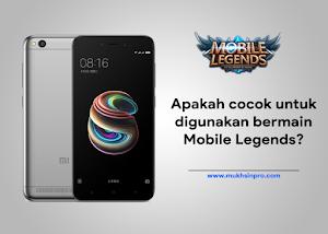 Performa Xiaomi Redmi 5A Saat Bermain Game Mobile Legends